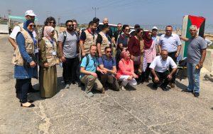 MedGlobal and PAMA teams enter Gaza at Erez crossing