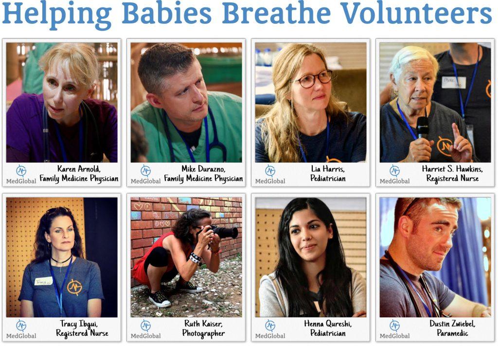 Helping Babies Breathe in Bangladesh volunteers