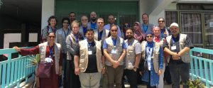 MedGlobal-PAMA team of volunteers in Gaza June 2019