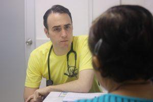 Dr. Kyle Varner, Internist and MedGlobal Volunteer in Cucuta, Colombia