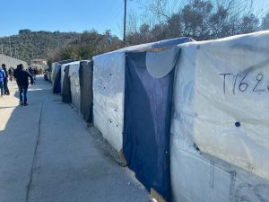 moria camp tents