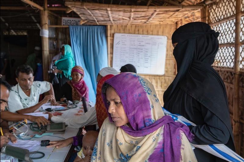 Rohingya in Bangladesh Clinic