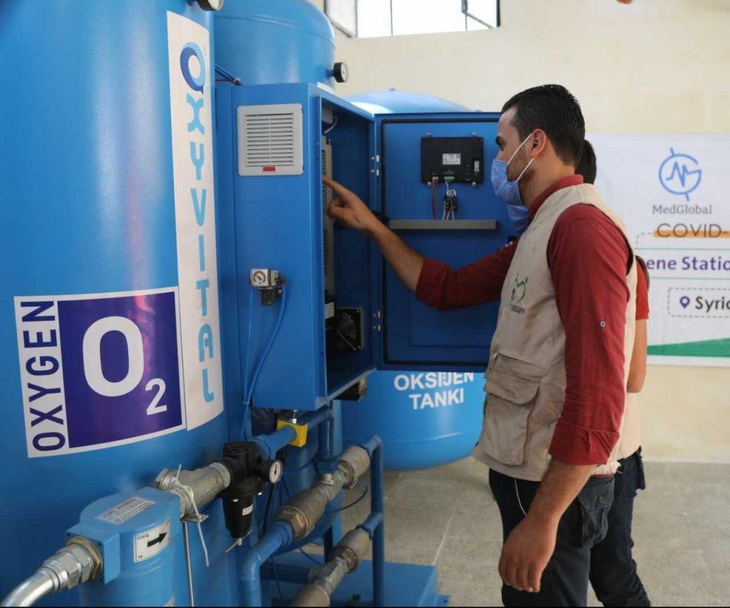 Oxygen Generator Installation in Syria