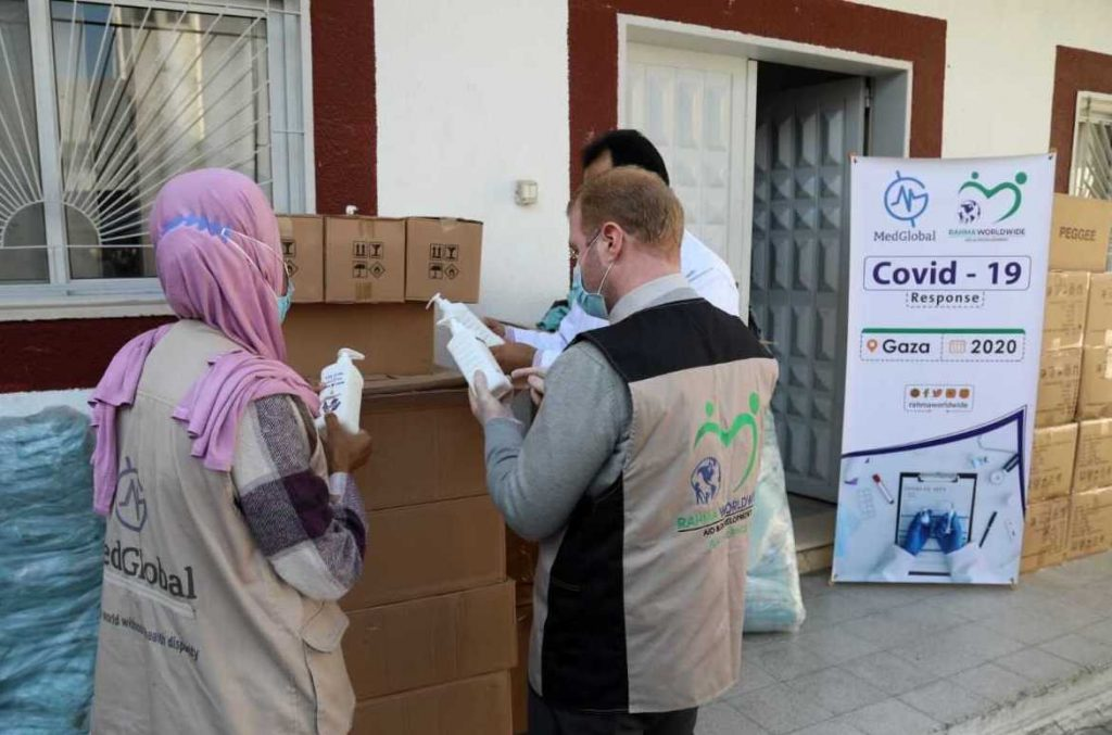 PPE Delivery in Gaza