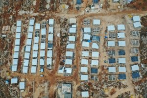 Millions of people who fled government bombardment live in overcrowded displacement camps in Idlib